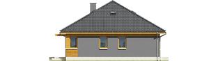 budowa domu Anabela ENERGO PLUS (odbicie lustrzane)- New-House