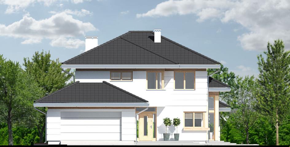 budowa domu Carmen Magdalena A-30 stopni - New-House