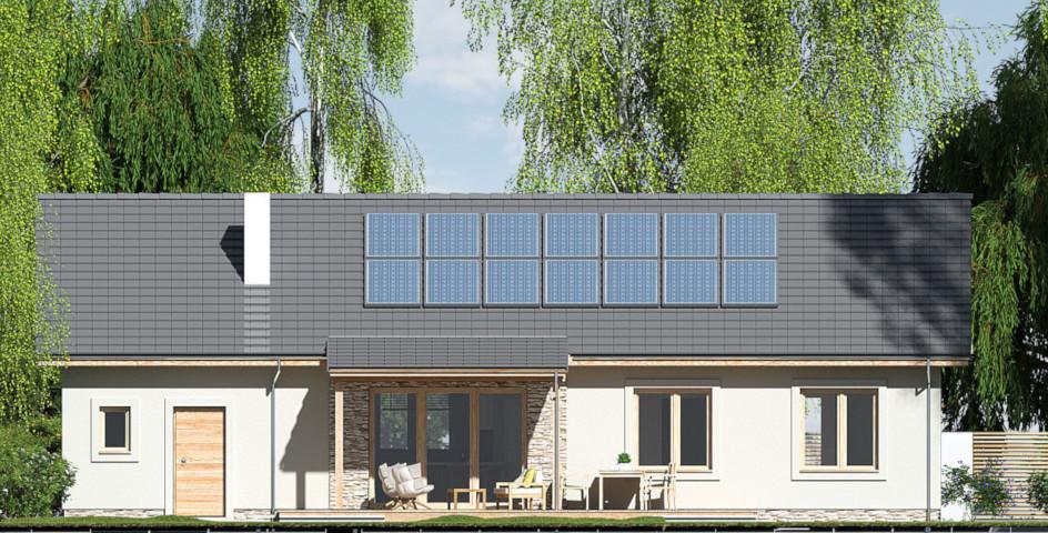 budowa domu Nina 2 Nova D 37 PLUS strop monolityczny- New-House