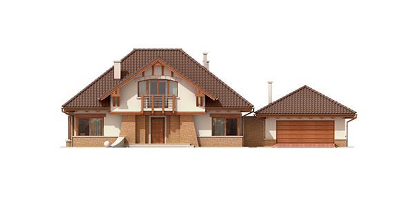 budowa domu Edek G2 Mocca - New-House