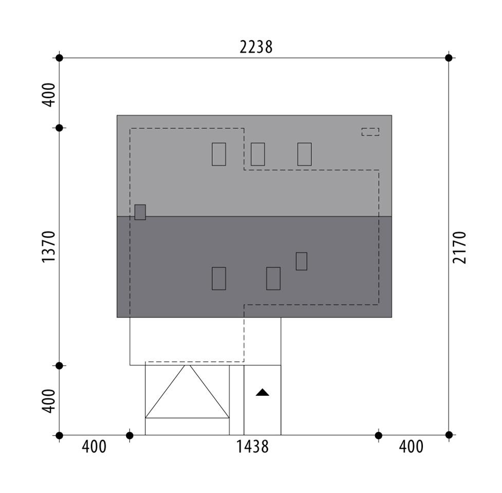 budowa domu Lucyna (odbicie lustrzane) - New-House