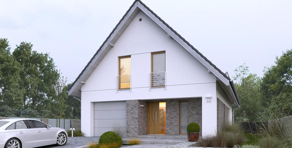 budowa domu Dostępny 4A - New-House
