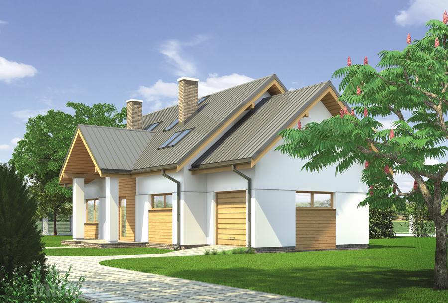 budowa domu Czarujący-wariant I M118a - New-House