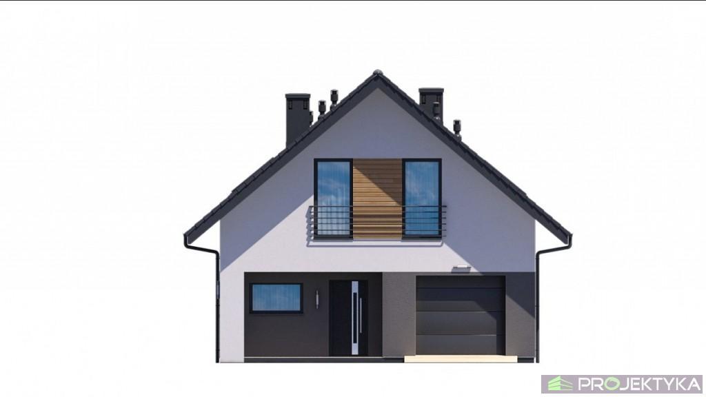 budowa domu KA33 T (odbicie lustrzane) - New-House
