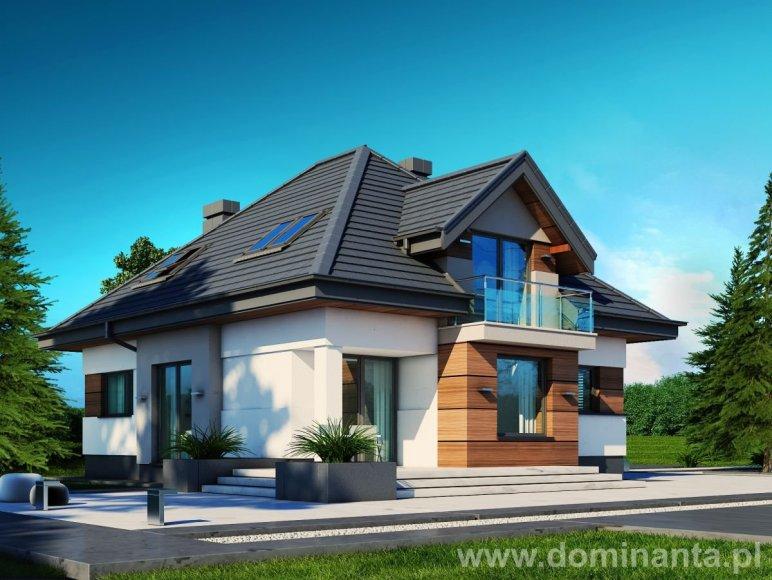 budowa domu Alicja N (odbicie lustrzane) - New-House