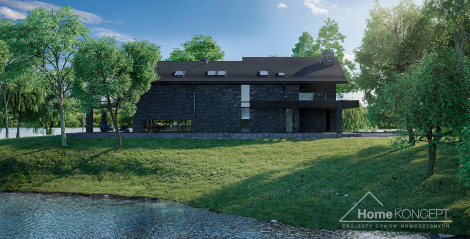 budowa domu HomeKONCEPT-New House 721(odbicie lustrzane) - New-House