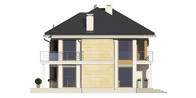 budowa domu Riwiera 3 (odbicie lustrzane) - New-House