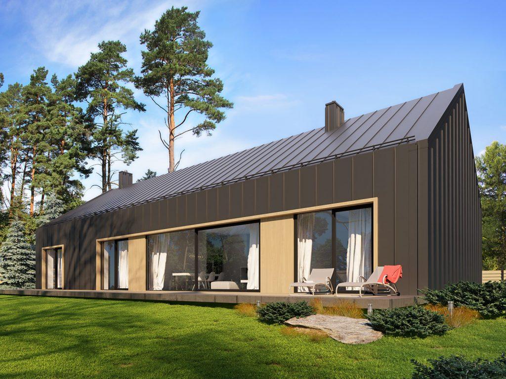 budowa domu Emea (odbicie lustrzane) - New-House