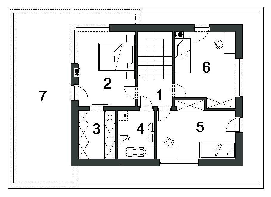 budowa domu SZYKOWNY D43 - New-House