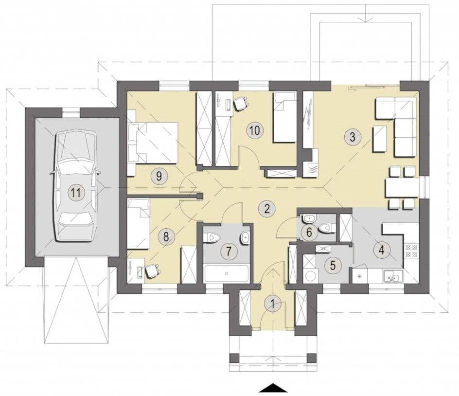 budowa domu Sardynia B - New-House