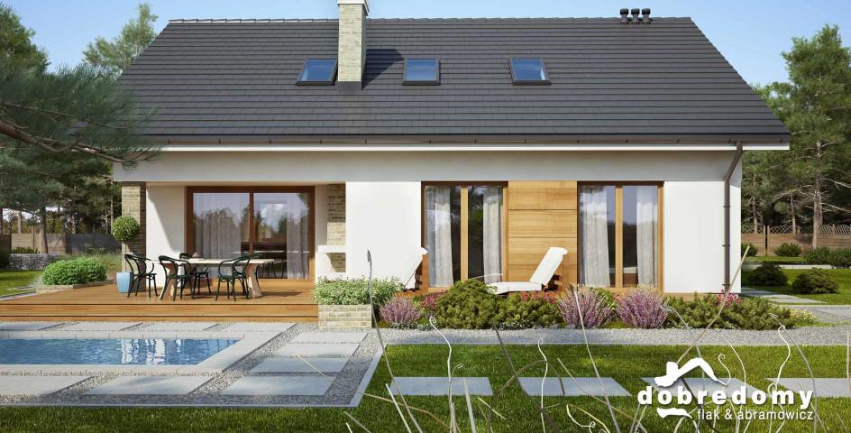 budowa domu Malwa (odbicie lustrzane) - New-House