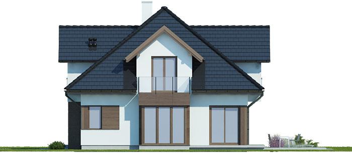 budowa domu Antoniusz (odbicie lustrzane) - New-House