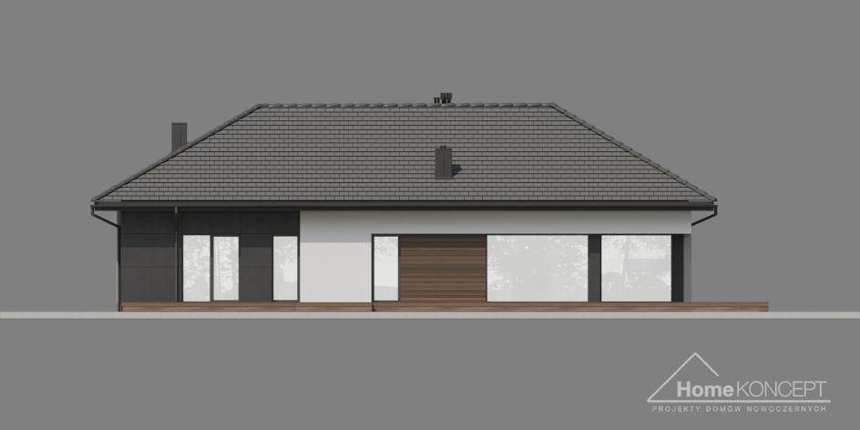 budowa domu HomeKONCEPT-36 wariant 1 - New-House