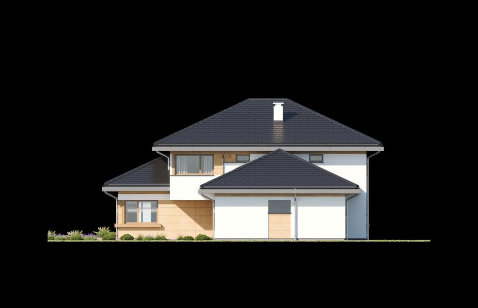 budowa domu Dom z widokiem 3 wariant B - New-House