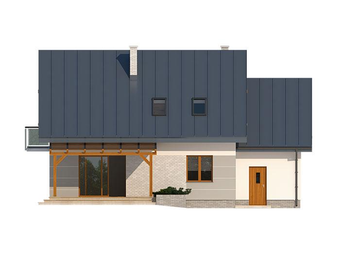budowa domu BRUNO (odbicie lustrzane) - New-House