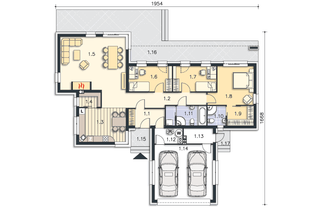 budowa domu Nokia II DCB84a - New-House