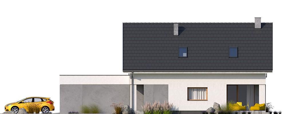 budowa domu Reficio I G2 (Odbicie lustrzane) - New-House