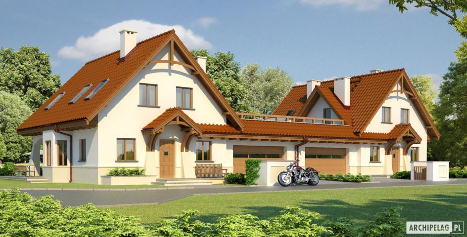 budowa domu Karolinka G2 (bliźniak)- New-House