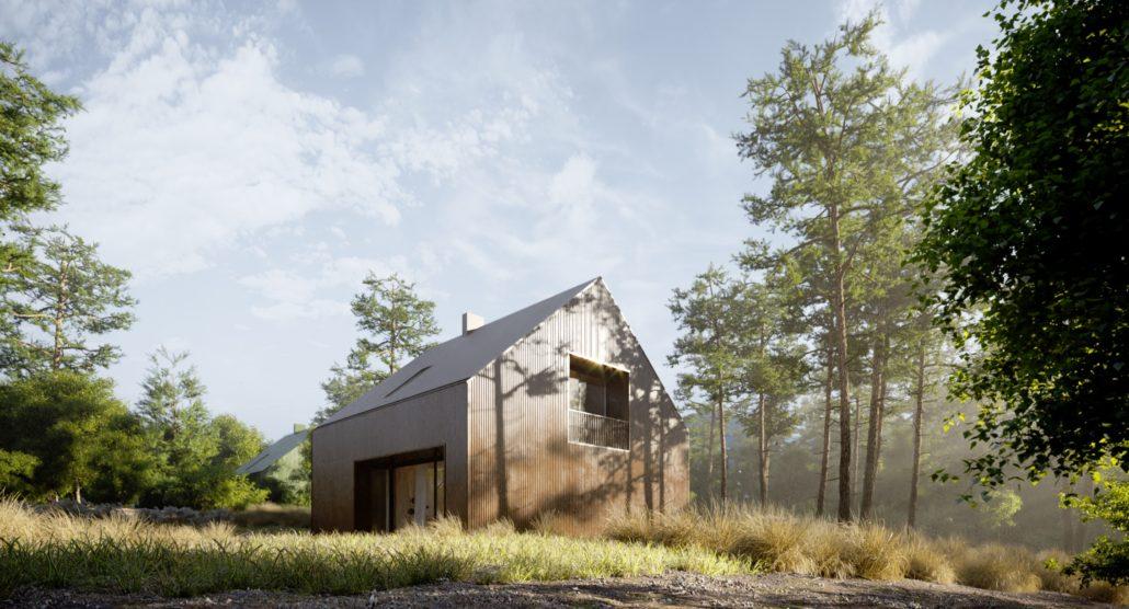 budowa domu Dom w kolorze M - New-House